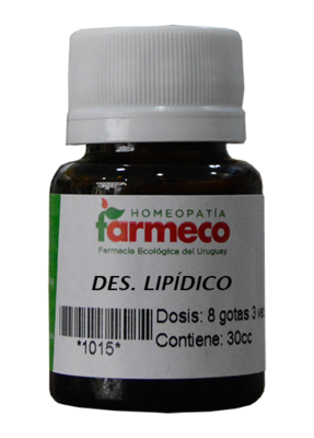 Desorden lipídico (colesterol)
