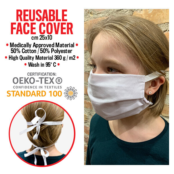 REUSABLE FACE COVER