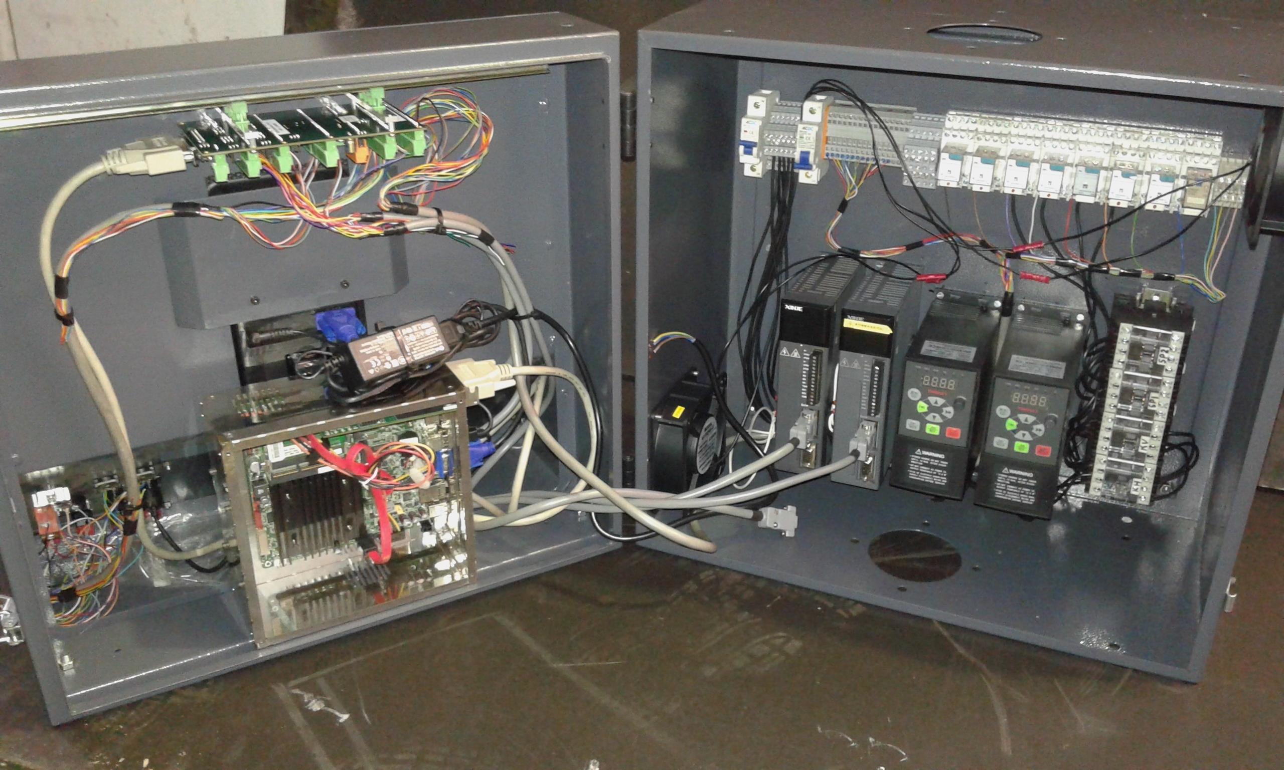 LinuxCNC Retrofit Kit - 750W 3 Axis Controller