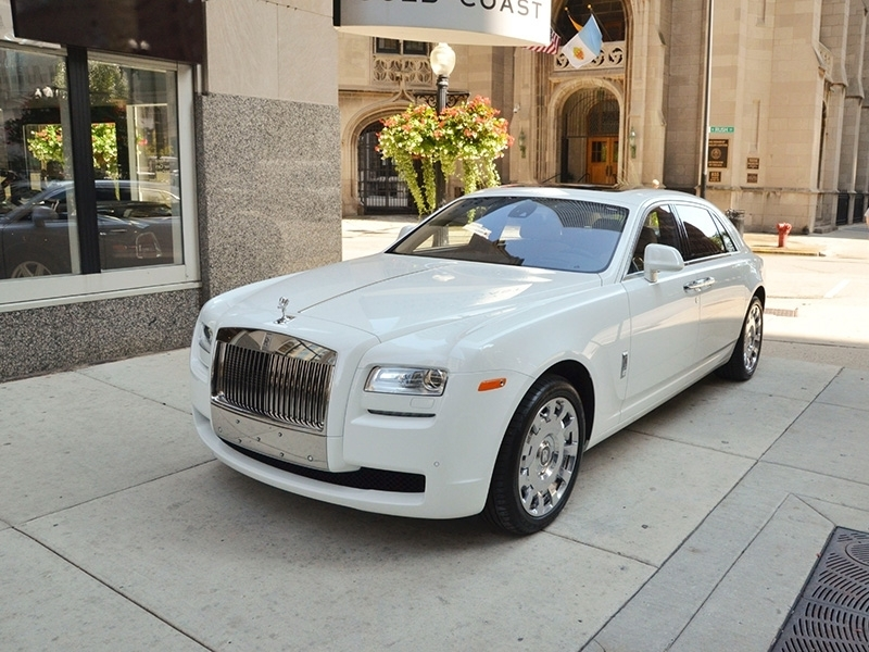 Rolls Royce Ghost White