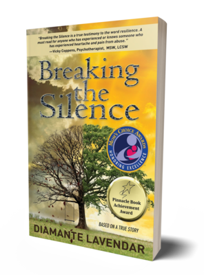 Breaking the Silence by Diamante Lavendar