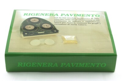 Regenerate Floor kit to polishing marble, travertine and limestone