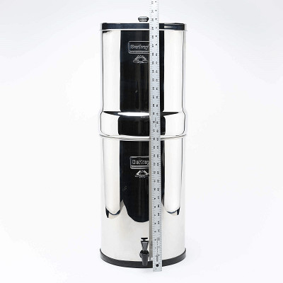 Crown Berkey Water Filter 22 Litres 6 Filters Also comes in 4 and 8 filter