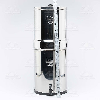 Imperial Berkey Water Filter System 17 Litres Counter Top Berkey 4 Black Purifier Elements  Also comes in 2 and 6 filter Options