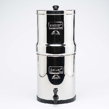 Crown Berkey Water Filter 22 Litres  4 Filters  Also in 6 and 8 Filters