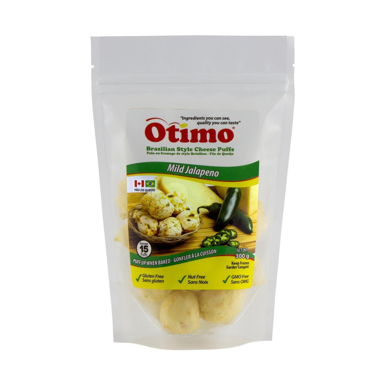 Otimo Brazilian Style Cheese Puffs Jalapeno - 1 bag