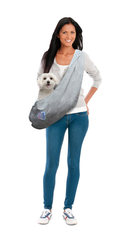 Precision Pet Snoozzy Baby Dog Sling Carrier, Small, Pink