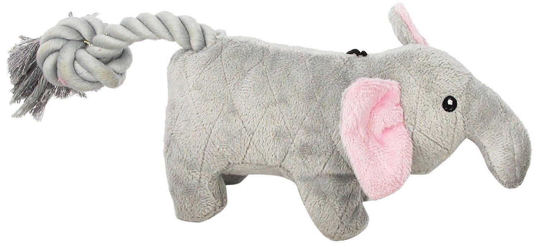 Chomper Gladiator Elephant Dog Chew Toy  (RPAL-A17)
