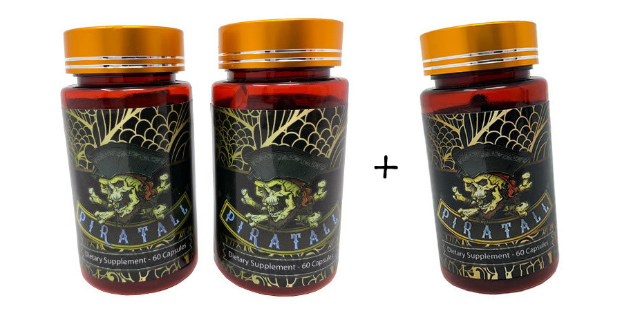 Piratall - 180 Capsules [Limited Time Special] 00859