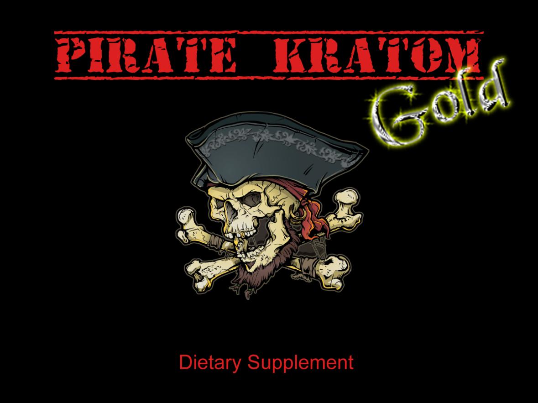 Pirate Kratom Gold - Single Pack 0712