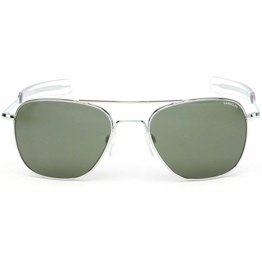 Randolph Aviator Bright Chrome Bayonet Sunglasses