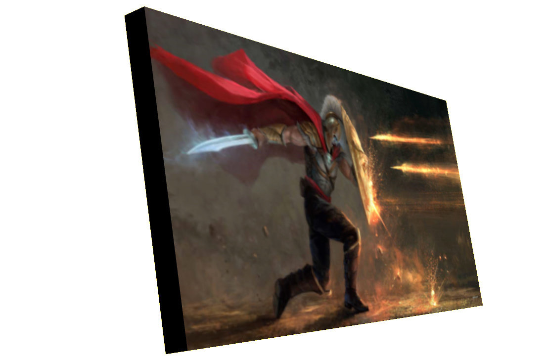 Canvas Print. Thick, Stretched & Mounted