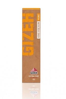 Бумага самокруточная Gizeh King Size Slim - Extra Fine Pure