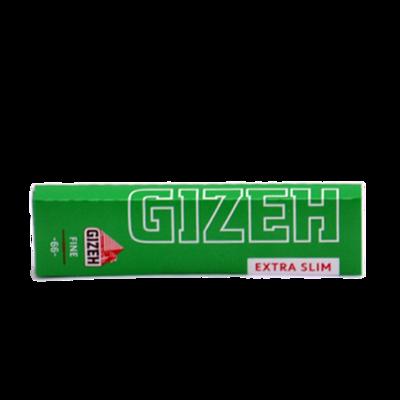 Бумага самокруточная Gizeh Fine Extra-Slim (зеленая) -66-