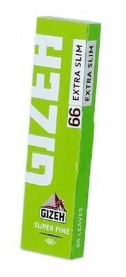 Бумага самокруточная Gizeh SUPER FINE Extra-Slim (66шт)