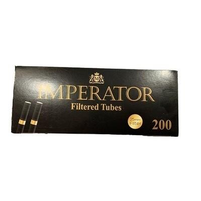 Сигаретные гильзы Imperator Black - Gold Filter 25mm (200 шт.)