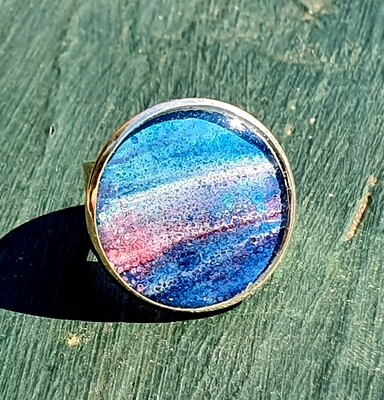 2 cm ring - galaxy