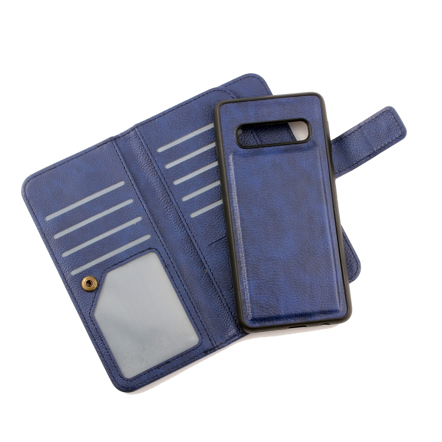 Samsung S10 Book Case With Nine Card Holders