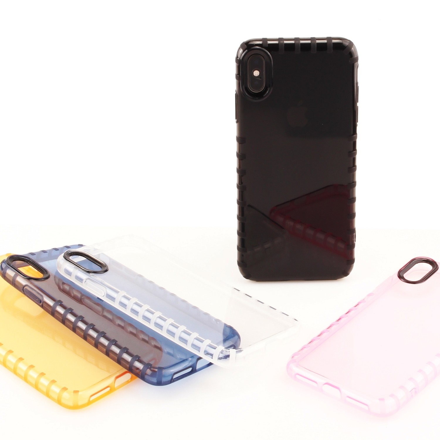 Apple iPhone X XS (5.8 inch) Slip Proof Jelly Case