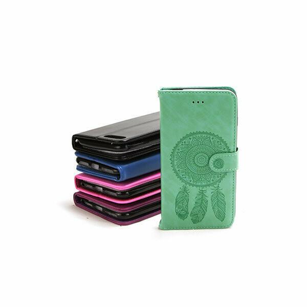 Samsung S9 Embossed Dreamcatcher Magnetic Book Case