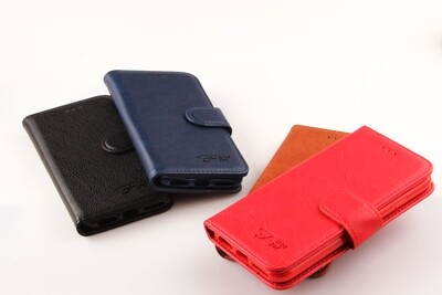 Nokia 2.1 Fashion Plain Book Case