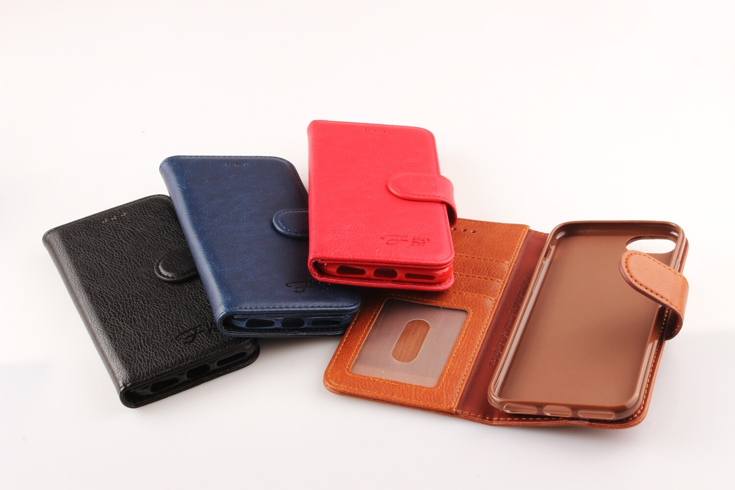 Oppo R17 Fashion Plain Book Case