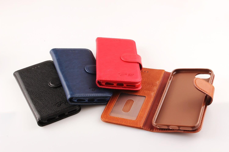 Samsung A20 Fashion Plain Book Case