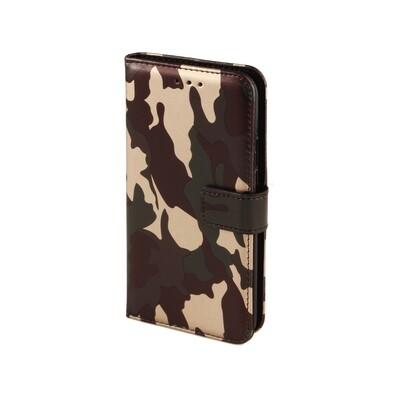 Apple iPhone 6 Plus 7 Plus 8 Plus Army Green Book Case