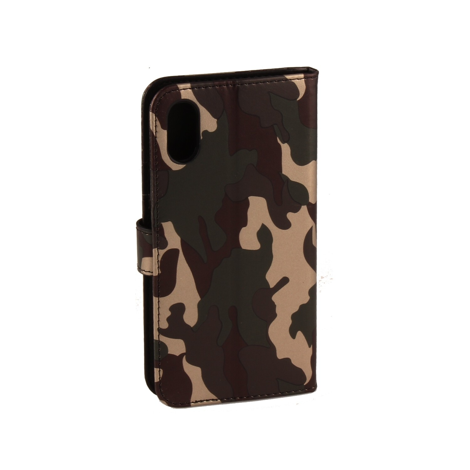 Apple iPhone XR Army Green Book Case