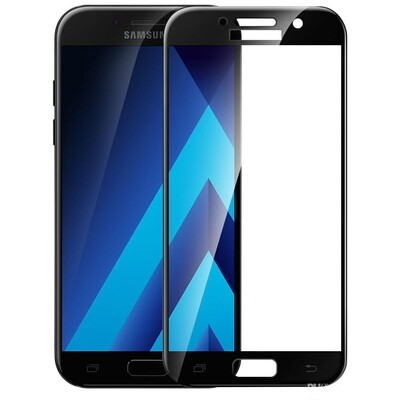 Samsung A5 2017 Full Glue Glass Screen Protector ( 5 Pack )