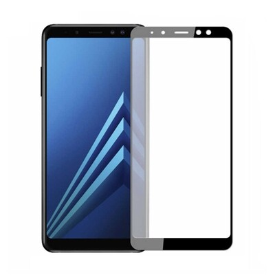 Samsung A5 2018 A8 2018 Full Glue Glass Screen Protector ( 5 Pack )