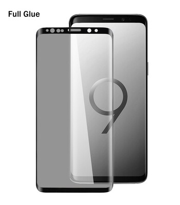 Samsung S9 Plus 3D Full Glue Glass Screen Protector ( 5 Pack )