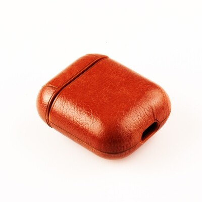 AirPods Leather ShockProof Case