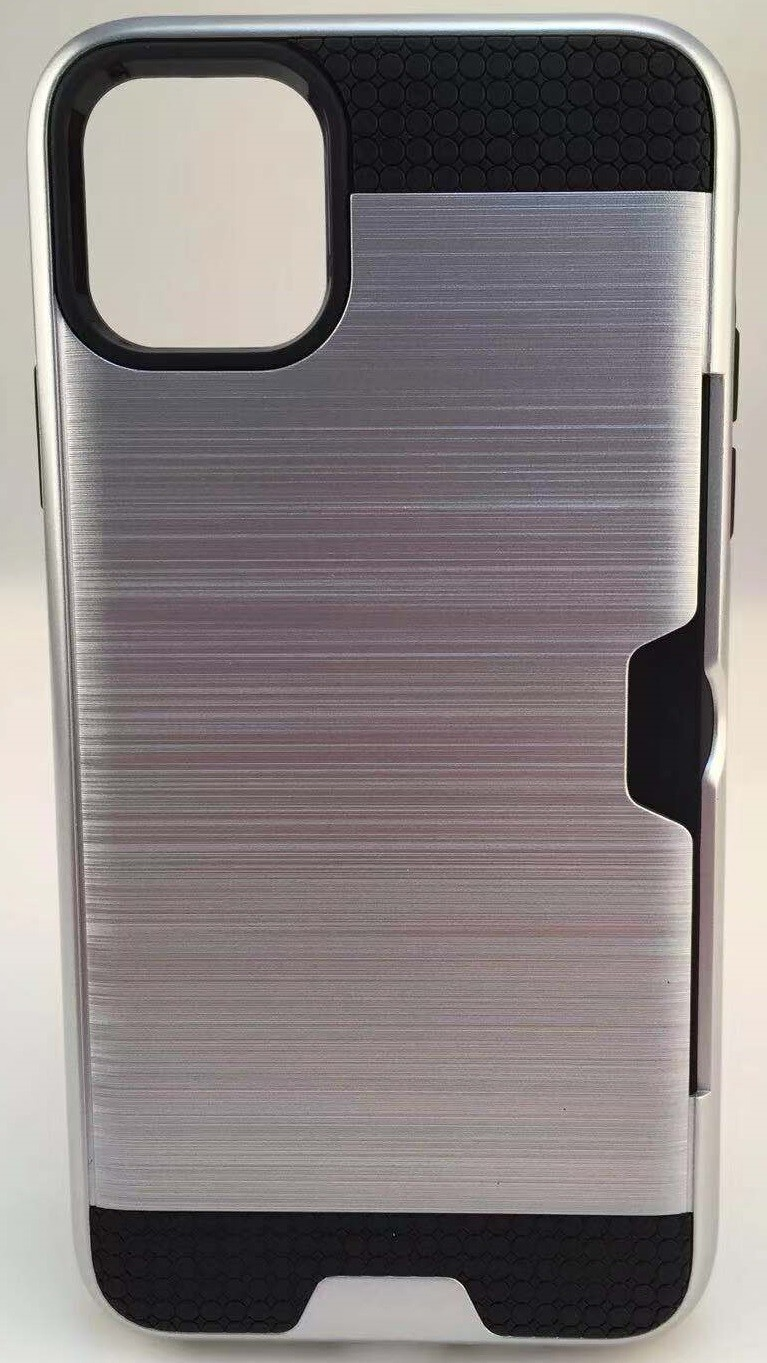 Apple iPhone 11 Pro Max (2019 6.5 inch) Tough Card Holder Back Case
