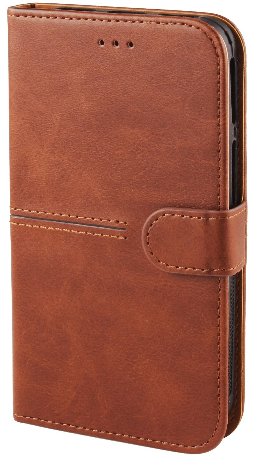 Leather Style Multiple Fitting Phone Case with Adjustable & Slideable Silicone Lining