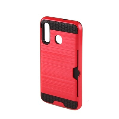 Sumsung A20 / A30 Tough Card Holder Back Case