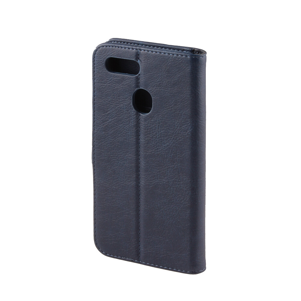 Oppo AX7 Fashion Plain Book Case