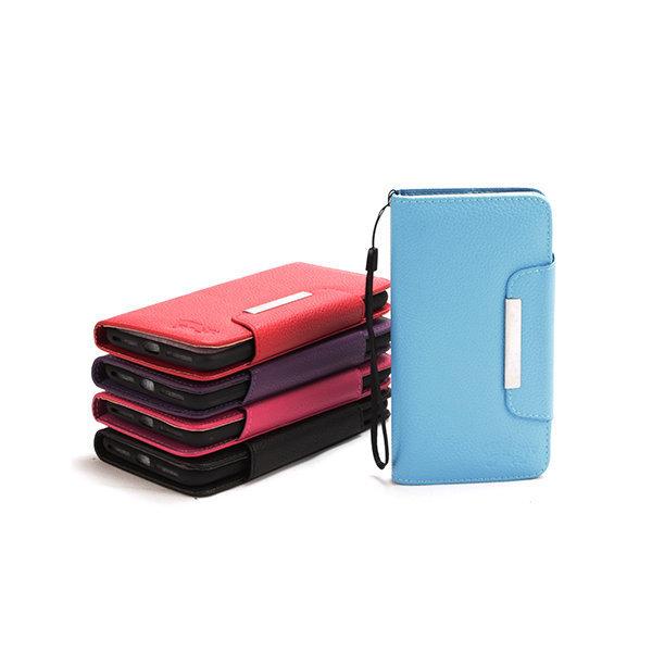 Apple iPhone Xs Max Plain Magnetic Book Case