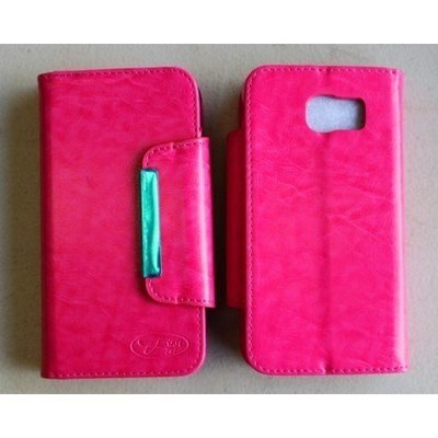 Samsung S6 Magnetic Flip Wallet Book Case