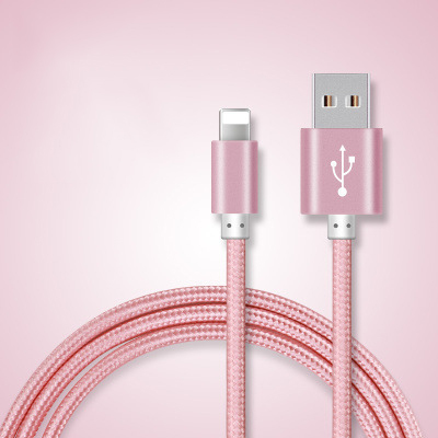 Lightning to USB Knit Cable ( With Winder 1.5m )