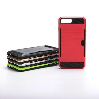 Samsung J5 Tough Card Holder Back Case