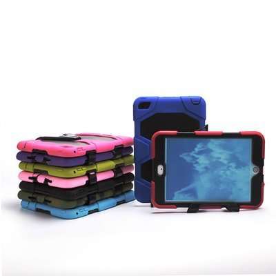 Apple iPad Mini 1 2 3 Guardian Robot ShockProof Case