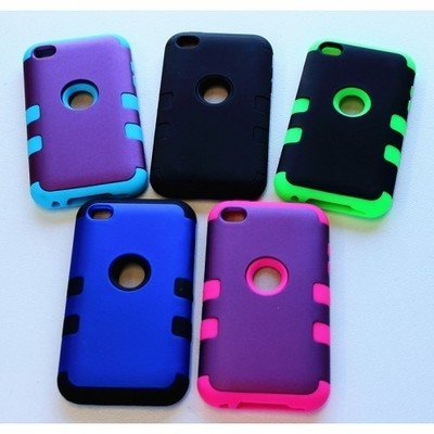 Apple iPhone 4 Tough Back Case (3 Pieces)