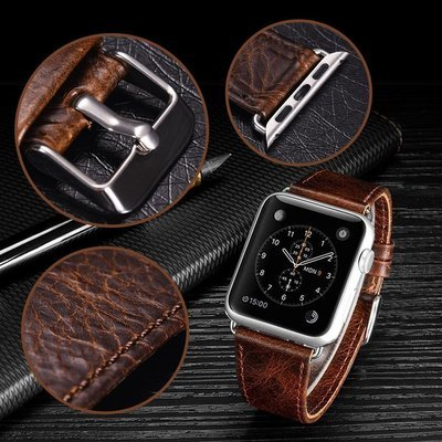 Apple Watch Classic Leather Band