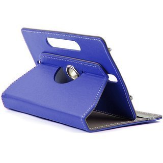 Multiple Fitting 7 inch Litchi Rotating Book Case