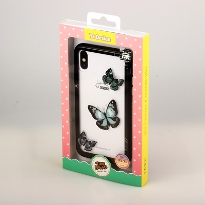 Apple iPhone 6 Printed Clear Tough Back Case