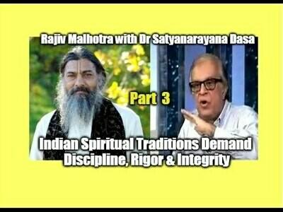 AUDIO - Satyanarayana Dasa in talk with Rajiv Malhotra