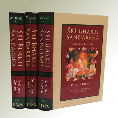 Bhakti Sandarbha, Volume I-II & III together only - (For USA Additional Shipment Charge)
