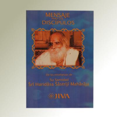 Mensaje a los discípulos (Spanish)