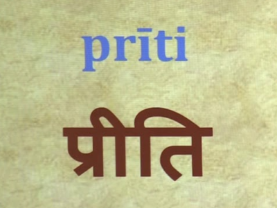 AUDIO - Priti and its definition according to Priti Sandarbha, anuccheda 61